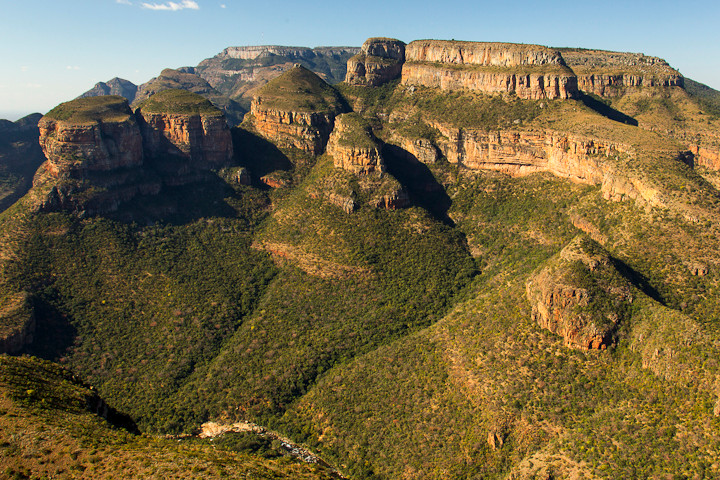 Blyde River Canyon: Three Rondavels