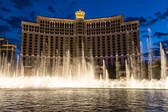 "Wasserspiele am ""Bellagio"" (Las Vegas)"