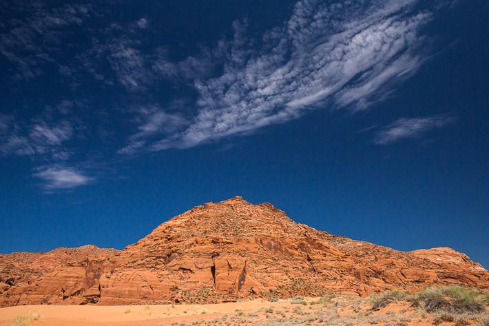 Mit nur 23 Quadratkilometern ist der Snow Canyon einer der kleineren Parks in den USA.