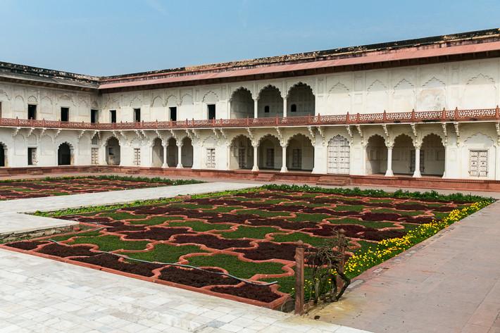Gartenanlage im Khas Mahal