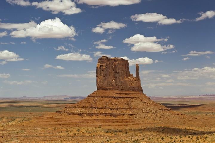 Monument Valley mit West Mitten Butte