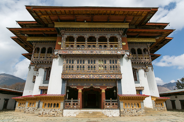 Renovierungsarbeiten am Kloster