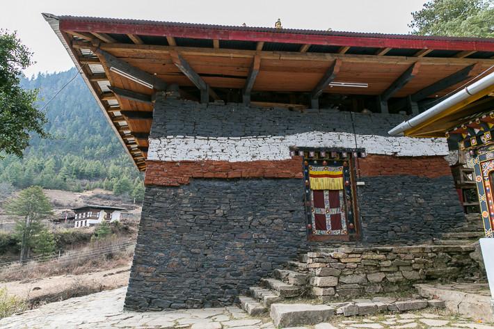 Schwarzer Tempel Lhakhang Nagpo