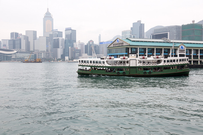 Star Ferry im Victoria Harbour