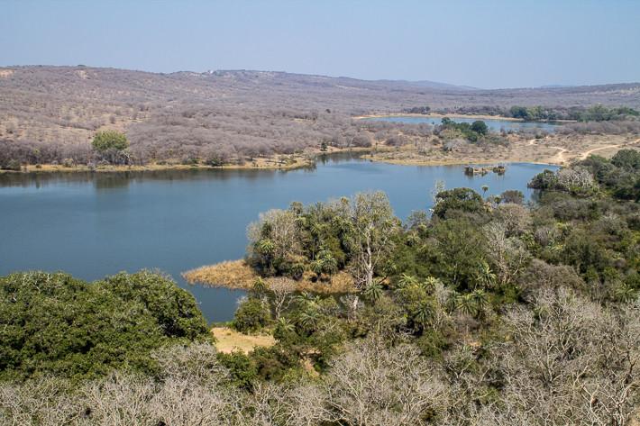Ausblick auf den Nationalpark