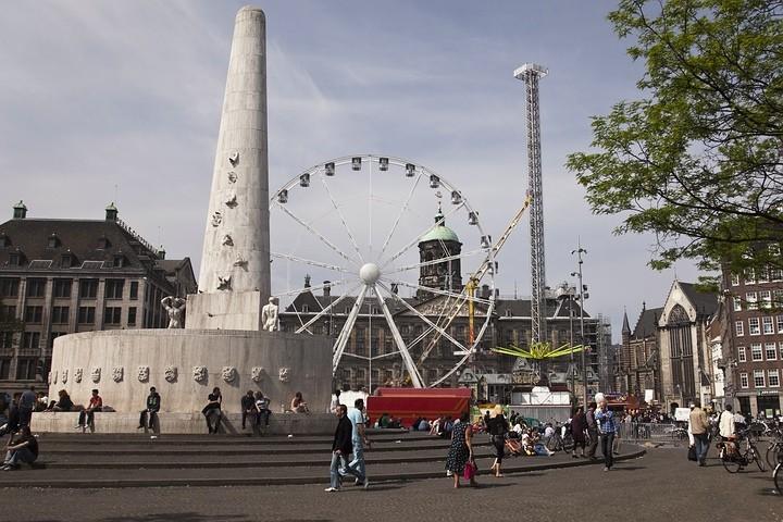 Das niederländische Nationaldenkmal.