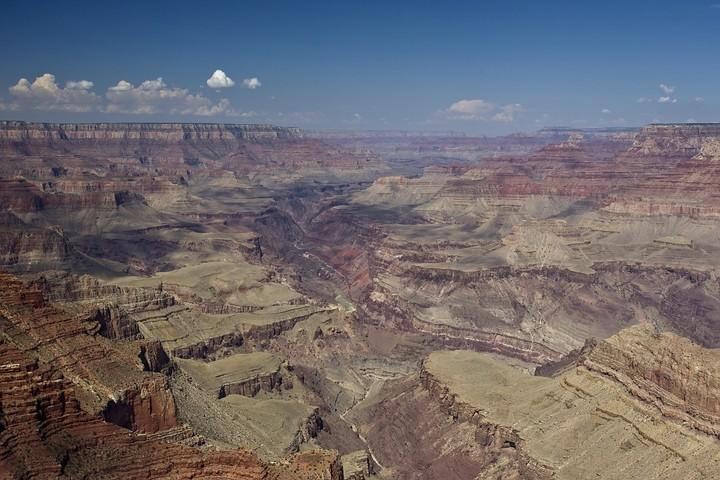 Der Grand Canyon Nationalpark im US-Bundesstaat Arizona.