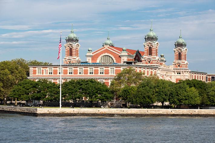 Früher das Gebäude für die Immigration, heute Museumsgebäude.