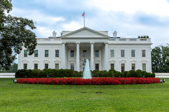 Nordfassade des Weißen Hauses