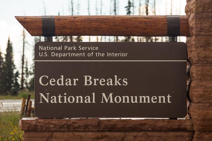 Cedar Breaks ist ein National Monument in Utah.