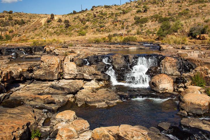 Die Potholes sind eine Sehenswürdigkeit an der Panorama Route in der Provinz Mpumalanga im Osten Südafrikas.