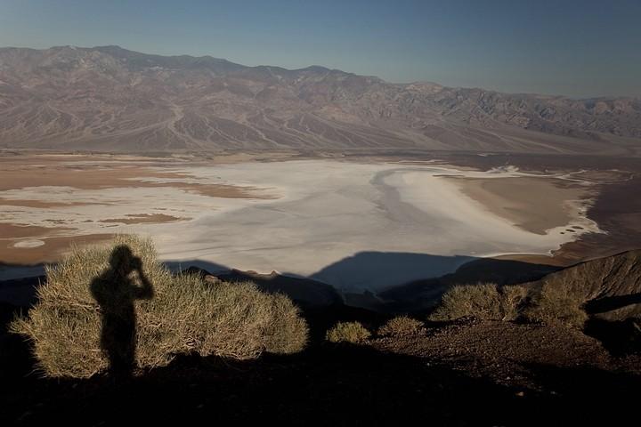 Oberhalb des Death Valley liegt der Aussichtspunkt Dante's View in 1.669 m Höhe.