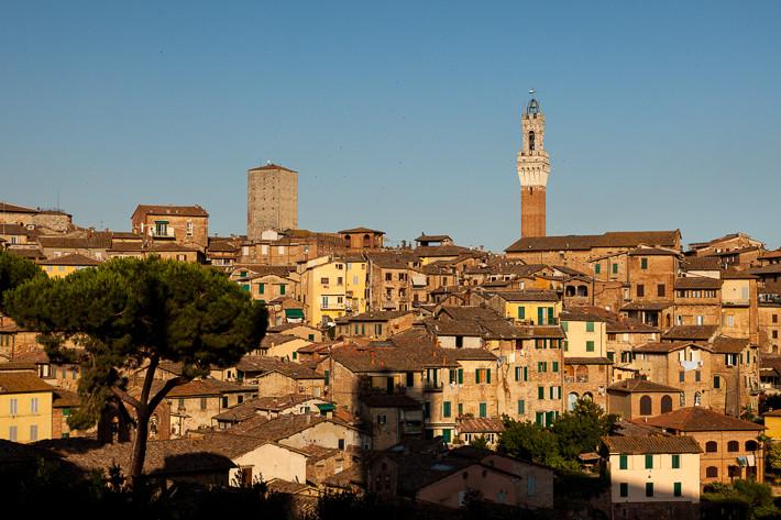 Siena gilt als eine der schönsten Städte der Toskana und Italiens.