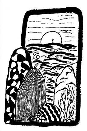 Buchillustration - Tusche