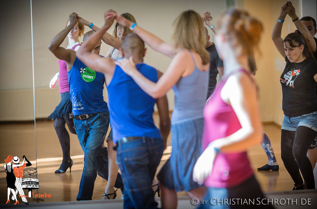 Samba Treffen Berlin 2016 - Carlos Frevo Workshop