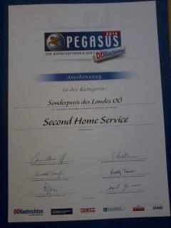 Pegasus - Sonderpreis des Jahres