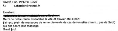 """Olivier (directeur à Marseille) - suite à une prestation """"incentive"""""""