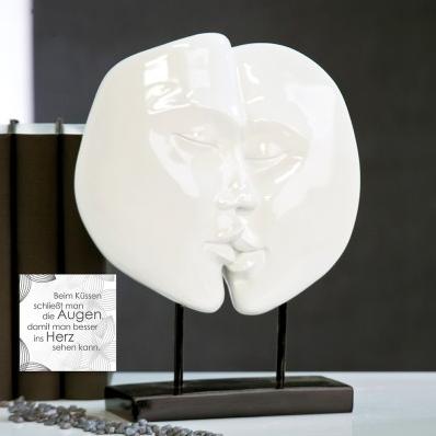 Skulptur Faces 86,90 € 28x22 cm Casablanca Design