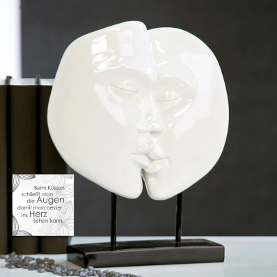 Skulptur Faces 86,90 € 28x22 cm Casablanca Design