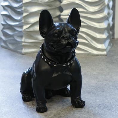 Figur Bulldog 42,50x22x40 cm mit Halsband 99,90 €