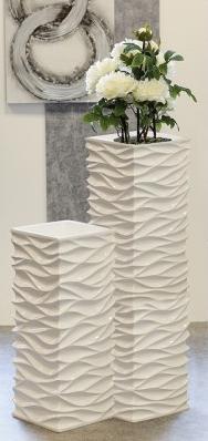 Pflanzgefäß Wave Blumentopf 139,00 € 70x27x27 cm Casablanca Design