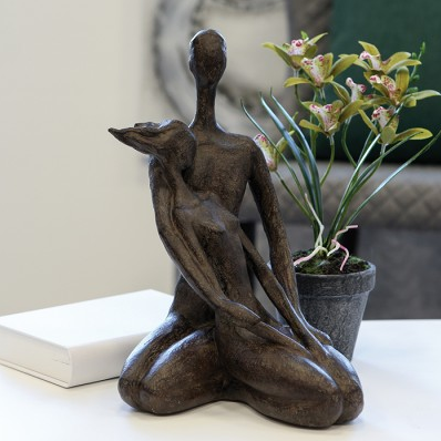 Skulptur Paar 52,00 € 31x20 cm Casablanca Design