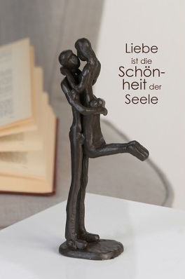 Design Skulptur Kissing 34,95 € 19 cm Casablanca Design