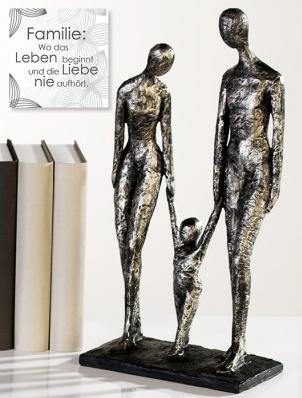 Skulptur Family 72,90 € 38x20 cm Casablanca Design
