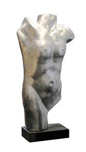 Gentlemen aus Poly mit Marmorsockel 85x38 cm 349,00 €