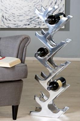 Weinflaschenständer 10 Flaschen 149,00 € 83x28x14,5 cm Casablanca Design