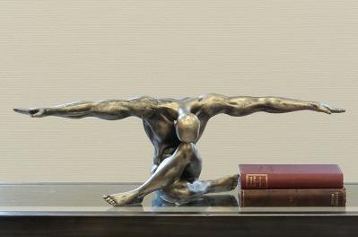 Figur Cliffhanger 65,00 € 20x61 cm Casablanca Design