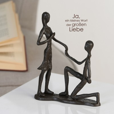 Design Skulptur Marry Me 32,95 € 17 cm Casablanca Design