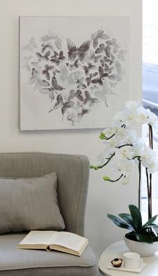 Ölbild Butterfly 79,00 € 60x60 cm Casablanca Design