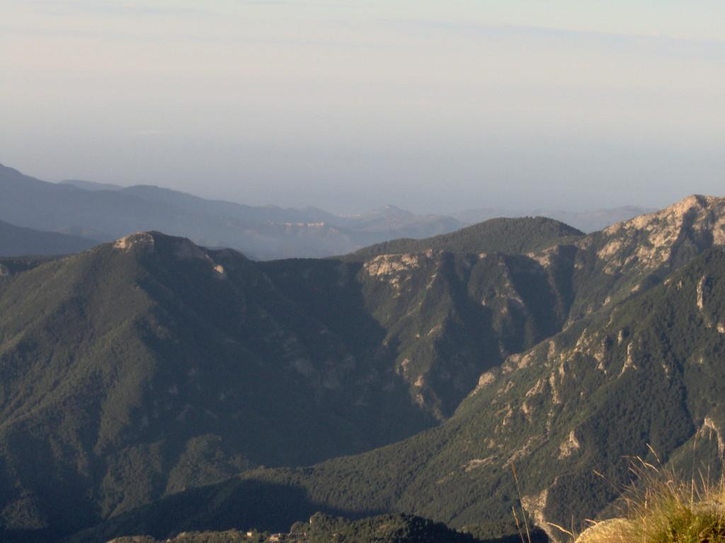 bis hinunter nach Ventimiglia und ans Meer.