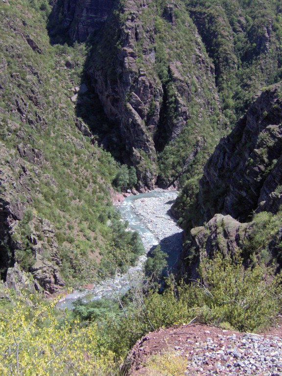 Die Gorges de Daluis runter