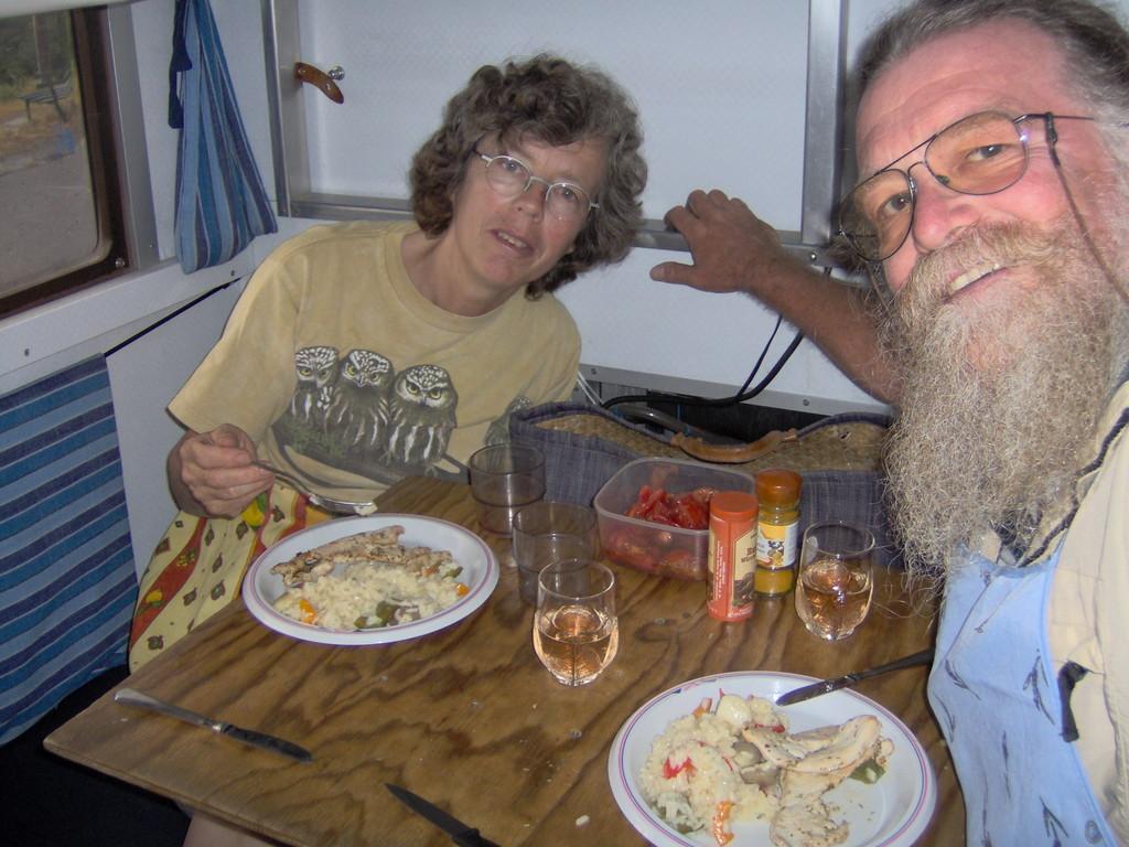unsere letzte Mahlzeit in den ligurischen Bergen - TOLL WAR'S