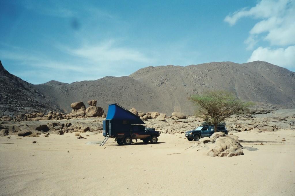und uns wieder trocken-heisse Wüstenverhältnisse beschert