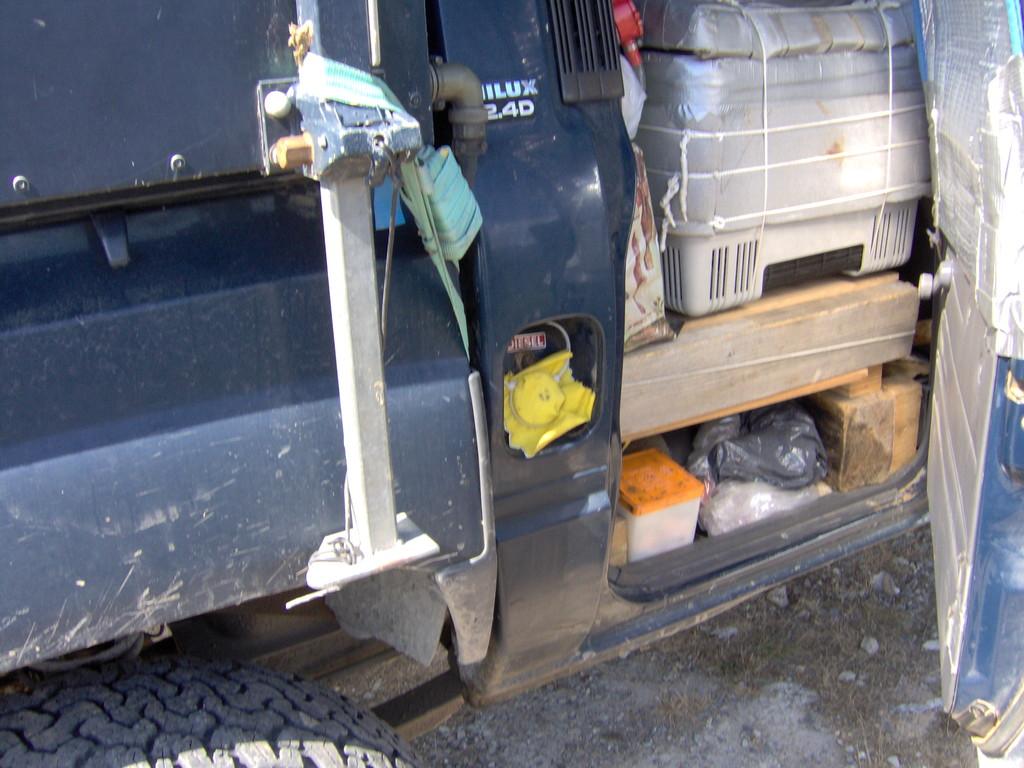 MIT einem abschliessbaren Tankdeckel ... jaaa ... ich bin tatsächlich einfach ohne von der Tanke weggefahren