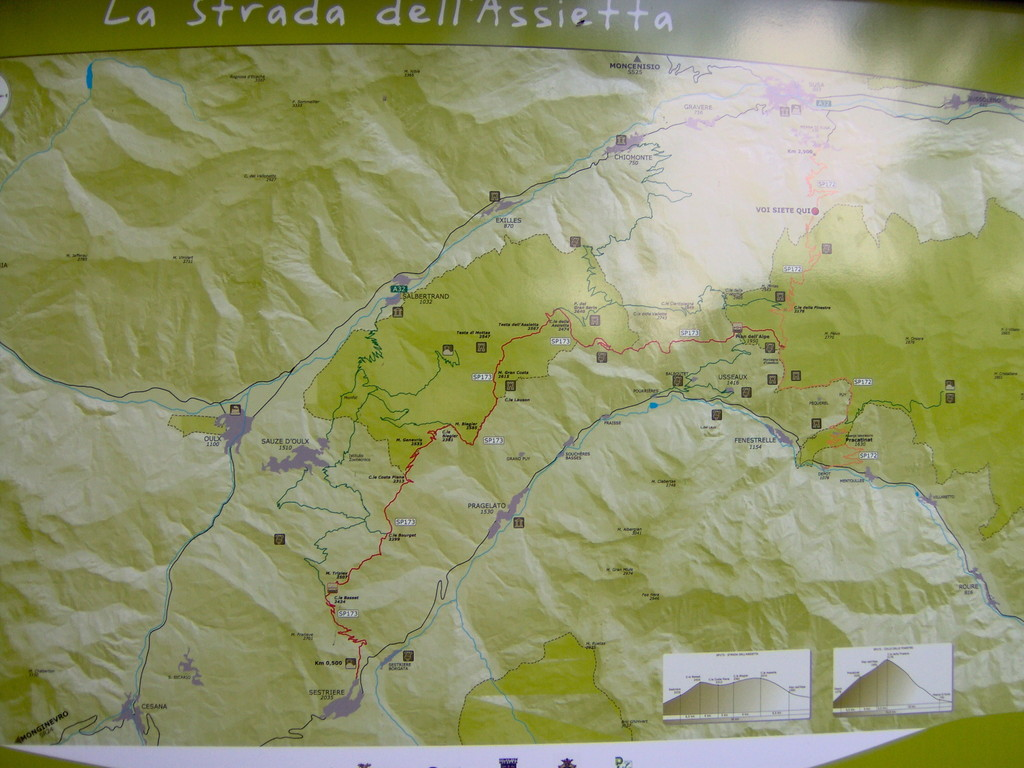 Und jetzt ab auf den Colle delle Finestre