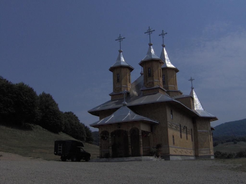 aber die Kirchen sind vielerorts neu.