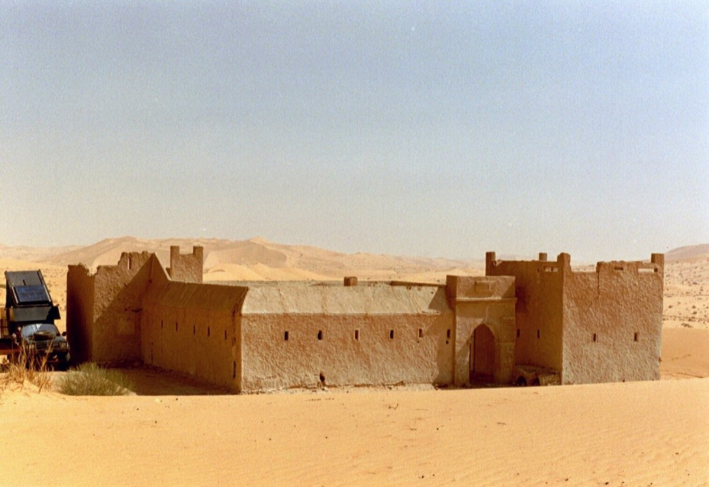 Ab Sif Fatimah war's dann definitiv wieder wüstenhaft trocken,