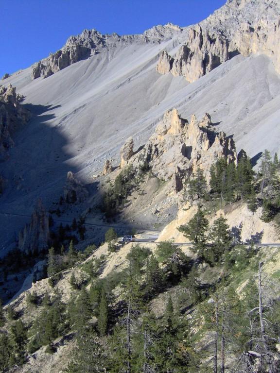 Auch die Casse Déserte eirnnert uns an US amerikanische Gebirge