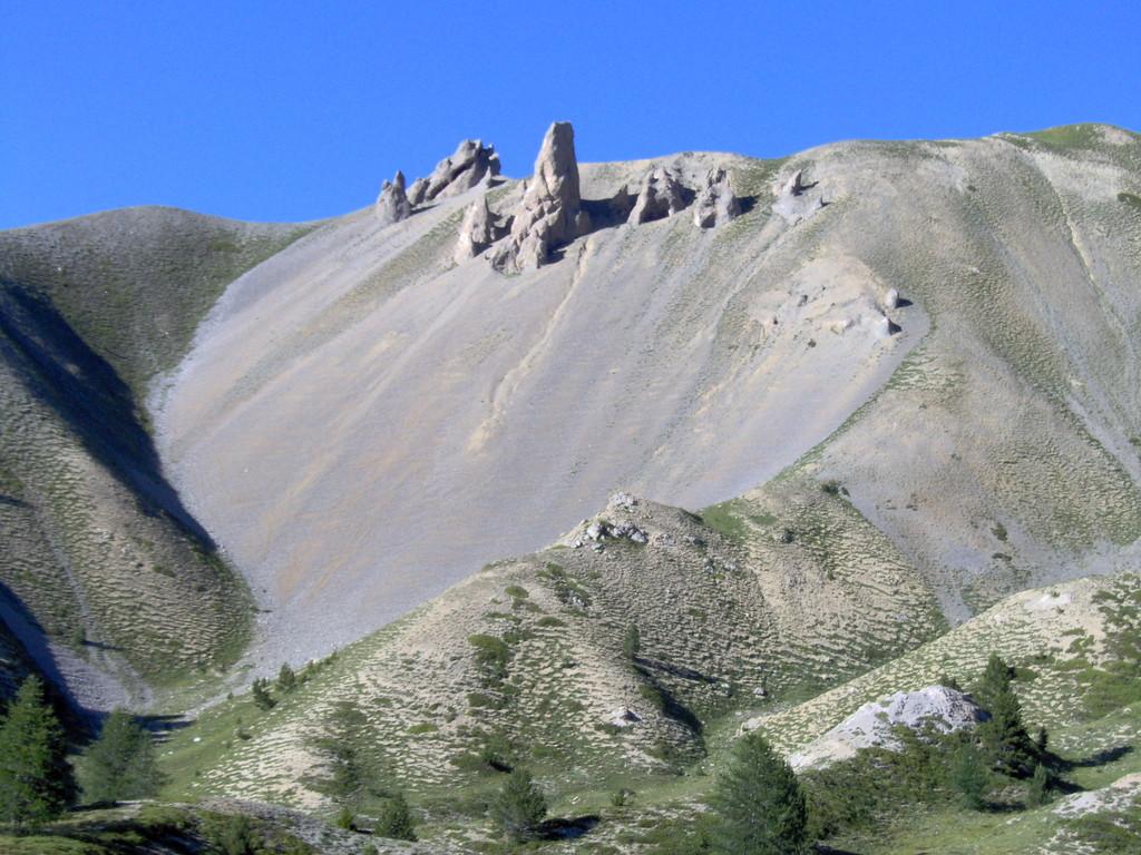 Und geniessen Landschaften auf dem Col d'Izoard,