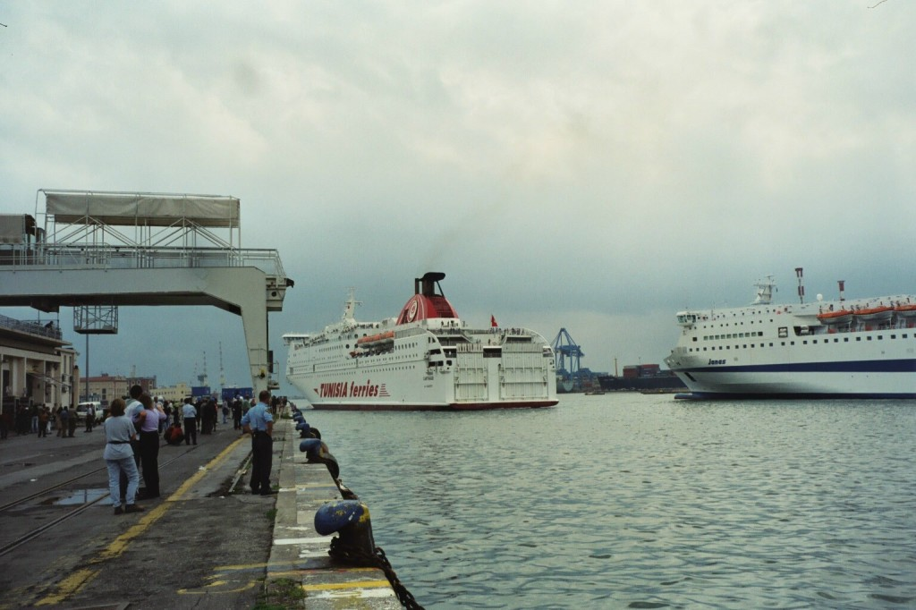Ankunft der Carthage in Genua