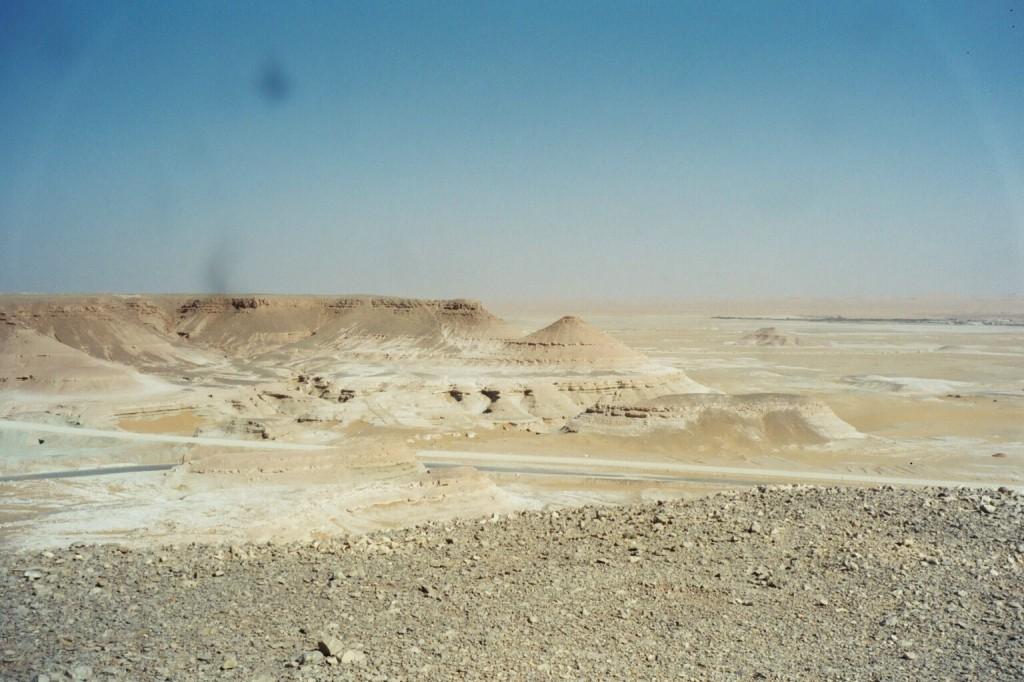 Abtauchen in die Wüste