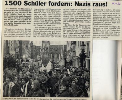 Artikel: Die Glocke 18.12.1992