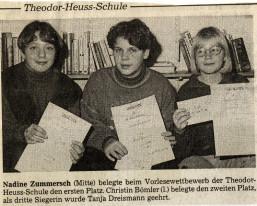 Bild: Die Glocke - 10.12.1993