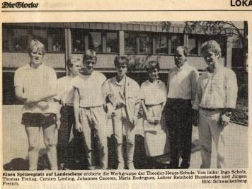 Bild: Die Glocke - 1.8.1986