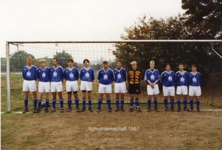 Schulmannschaft 1997