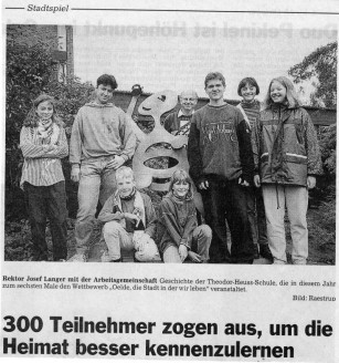 Artikel - Die Glocke -  vom 19.9.1996